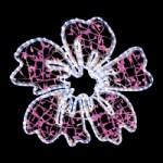 LED-2D-ビックフラワー ピンクホワイト-2