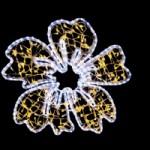 LED-2D-ビックフラワー ウォームホワイト-2