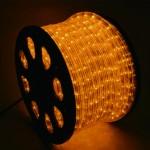 LEDロープライト40m巻アンバー のコピー