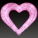 ハート-ピンク